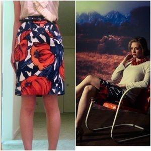 Anthropologie Skirts - Anthropologie Moulinette Soeurs Floral PencilSkirt
